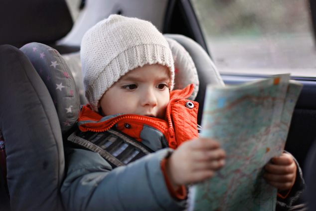 Viajar en coche con niños