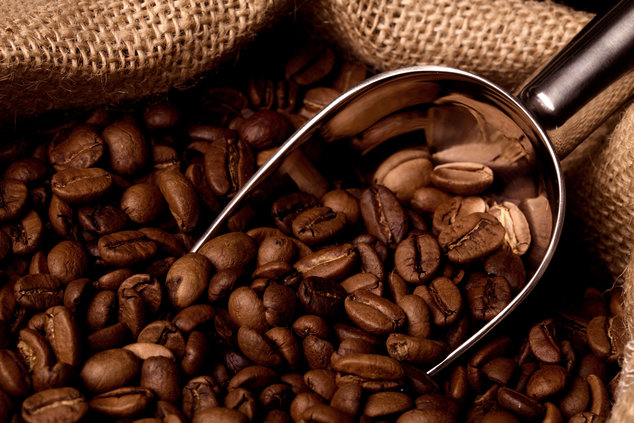 Granos de café para eliminar el mal olor