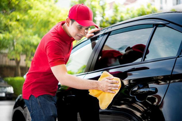 Cuidando el coche